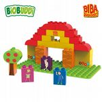 BiOBUDDi - Biba Stable - Eco Friendly Block Set - 31 Blocks